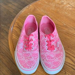 Limited Edition Hello Kitty Vans